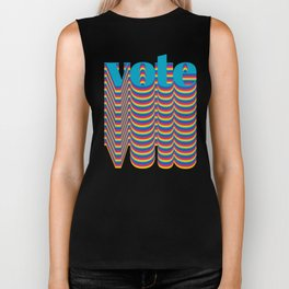 Get out the Vote Biker Tank