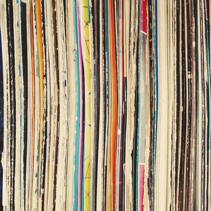 Record Collection Duvet Cover