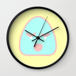 Happy / Concerned Ghost Face Wall Clock