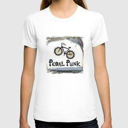 petal punk paint T-shirt