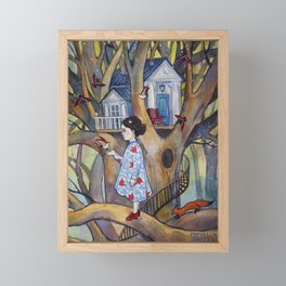 Little Kingdom I Framed Mini Art Print