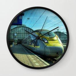 Amsterdam Eurostar Wall Clock