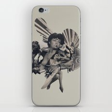 Leisure Burns iPhone & iPod Skin
