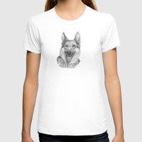 german T-shirts featuring German shephard by Doggyshop