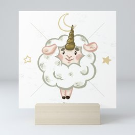 Zoo Bizarre I Sheepicorn Mini Art Print