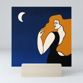 Nighttime Stroll Mini Art Print