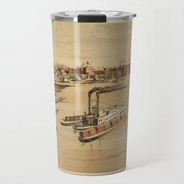 La Crosse Wisconsin 1873 Travel Mug