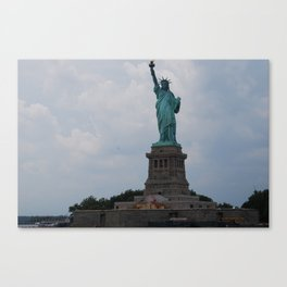 The Lady Liberty Canvas Print