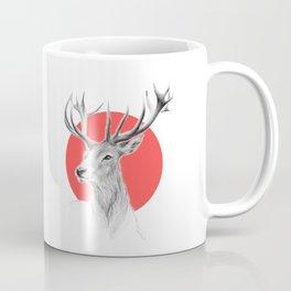 Deer | red Coffee Mug