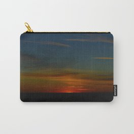 Prairie Sunset #1 (Chicago Sunrise/Sunset Collection) Carry-All Pouch