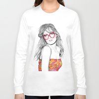 lolita Long Sleeve T-shirts featuring Lolita by label tania