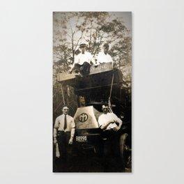 Byrne Coal Antique Truck Canvas Print