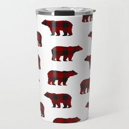 Lumberjack Bears Travel Mug