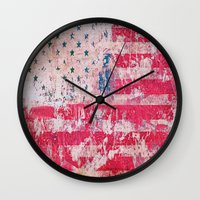 equality Wall Clocks featuring Equality by Fernando Vieira