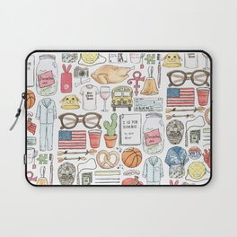 New Girl Laptop Sleeve