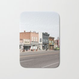 Typical Old American Town | Streets Of Panguitch Photo Art | Utah USA Print | Travel Photography Bath Mat