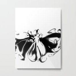 Ink Blot 05 Metal Print