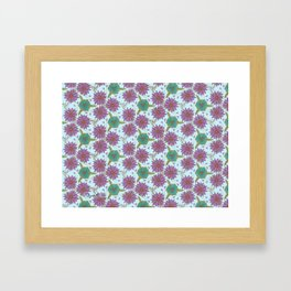 Floral Pattern #2 Framed Art Print