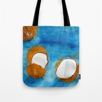 coco Tote Bags featuring Coco by Cro_Ki