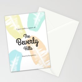 The Beverly Hills Hotel Leaf Stationery Cards