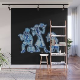 The Hitchhikers Wall Mural
