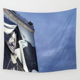 Johnny Hallyday memorial Paris Wall Tapestry