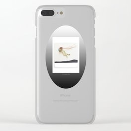 Stone Spirit / Flying Clear iPhone Case