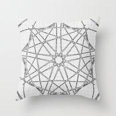 The Da Vinci Wheel Throw Pillow