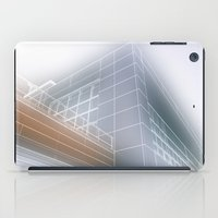 architect iPad Cases featuring Minimalist architect drawing by Solar Designs