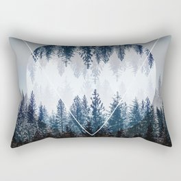 Woods 4 Rectangular Pillow