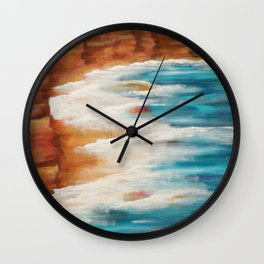 Moroccan Sea Spray Wall Clock