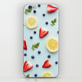 Strawberry Lemonade iPhone Skin