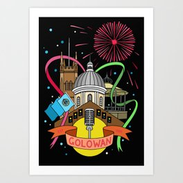 Golowan Festival Art Print
