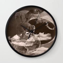 In circle Wall Clock