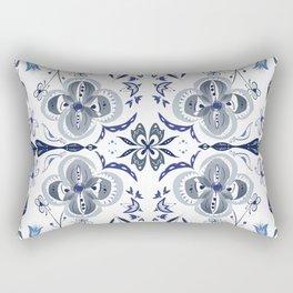 Oslo Folk Art Rectangular Pillow