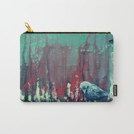 Praying Raven Carry-All Pouch