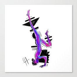 Yoganic Canvas Print
