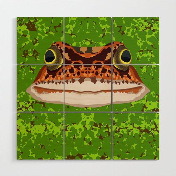 Frog Pond Wood Wall Art