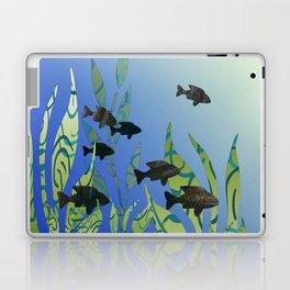 Designer Aquarium Fish Story Laptop & iPad Skin