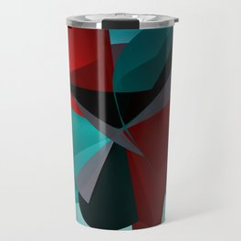 3 colors for a polynomial - landscape format Travel Mug