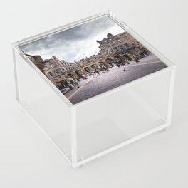 Royal Mile in Edinburgh, Scotland Acrylic Box