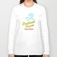 mlp Long Sleeve T-shirts featuring MLP PDX by Kimball Gray