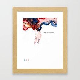 NEVERWANTEDTHIS Framed Art Print