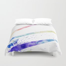 Brush strokes Duvet Cover