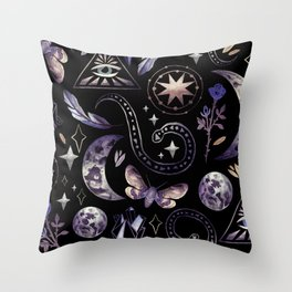 Witch Craft Throw Pillow