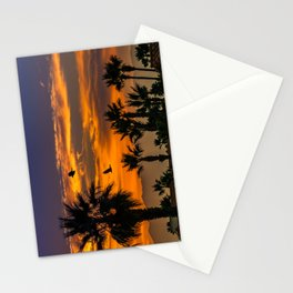 Sunrise in California Stationery Cards