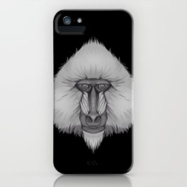 Icons of Africa - Mandrill iPhone Case