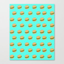 Project Burger Canvas Print