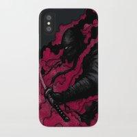 ninja iPhone & iPod Cases featuring Ninja by Pigboom Art