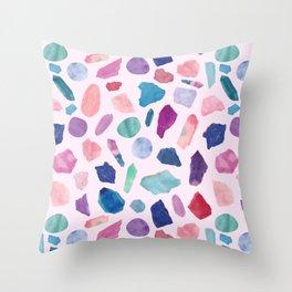 Crystalarium Throw Pillow